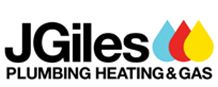 JGiles Plumbing Heating & Gas Logo